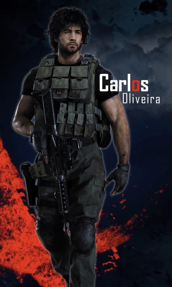 "Here's a Clearer Look at ""Resident Evil 3's"" Carlos Oliveira"