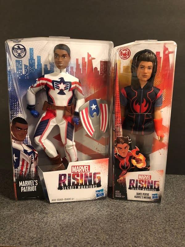 Hasbro Marvel Rising Line 4