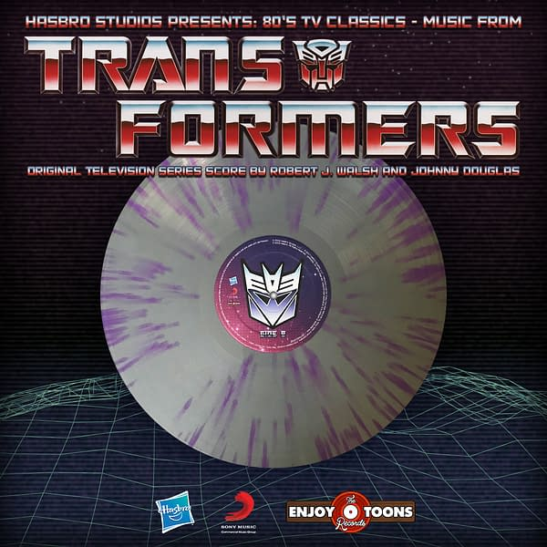 Transformers: The Original Animated Series Soundtrack Hits Vinyl Today!