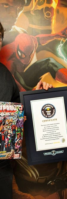 A Guinness World Record For Deadpool Not So Fast&#8230
