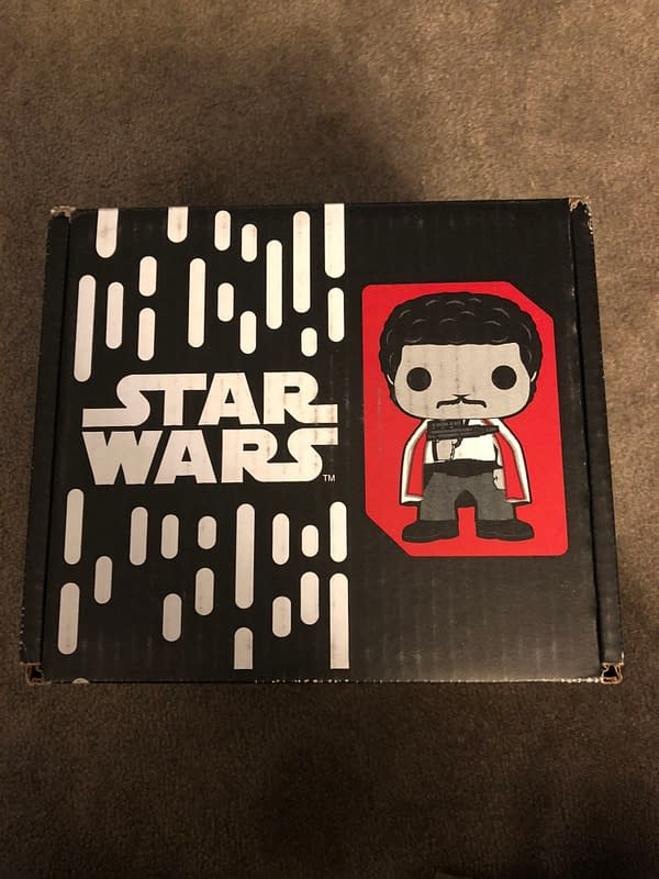 Funko Smugglers Bounty Star Wars Solo box