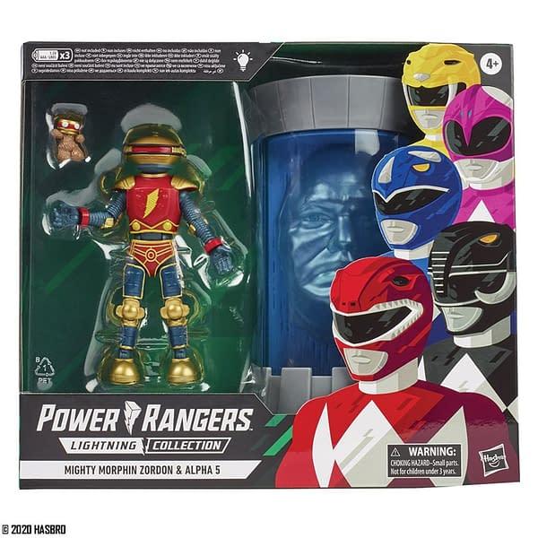 Power Rangers Alpha Zordon Walmart Exclusive 2