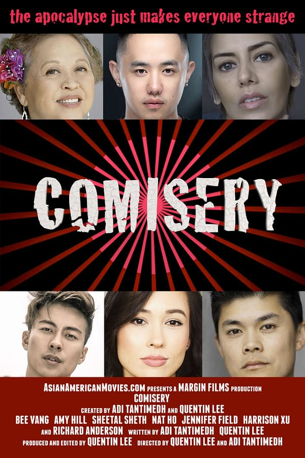Comisery Production Diary – Week 2: All Hail Amy Hill