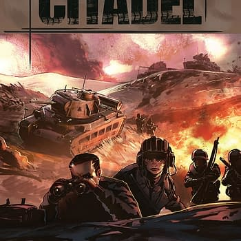 World of Tanks: Citadel #2 cover by Isaac Hannaford