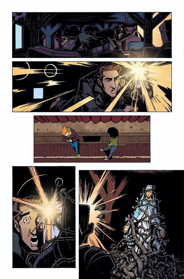 Scarenthood #1 page. Credit: IDW Publishing.