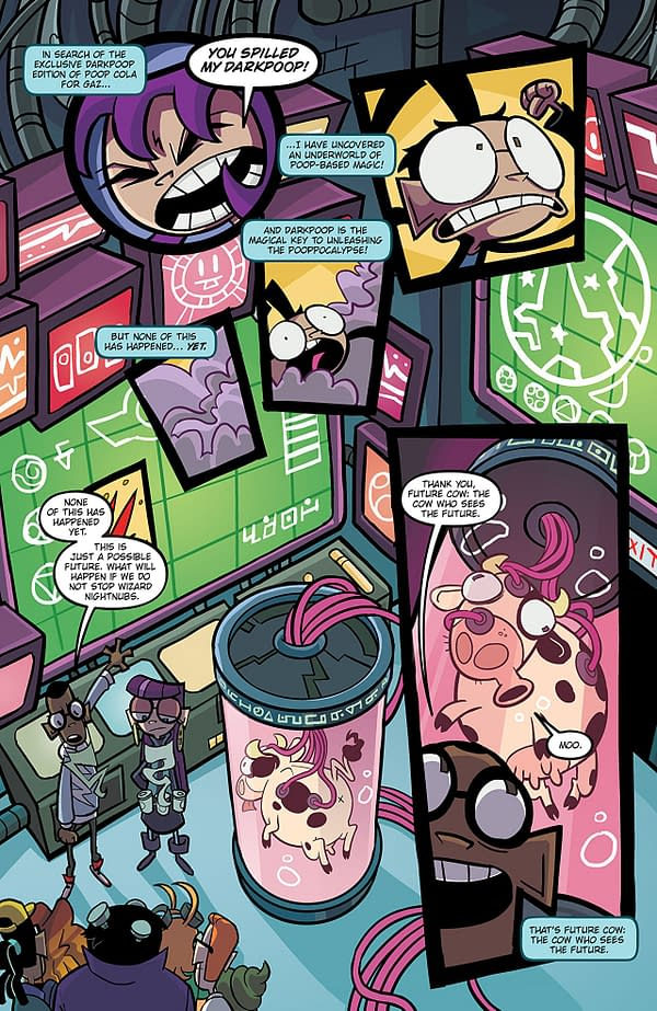 Invader Zim #30 art by Maddie C. and Fred C. Stresing
