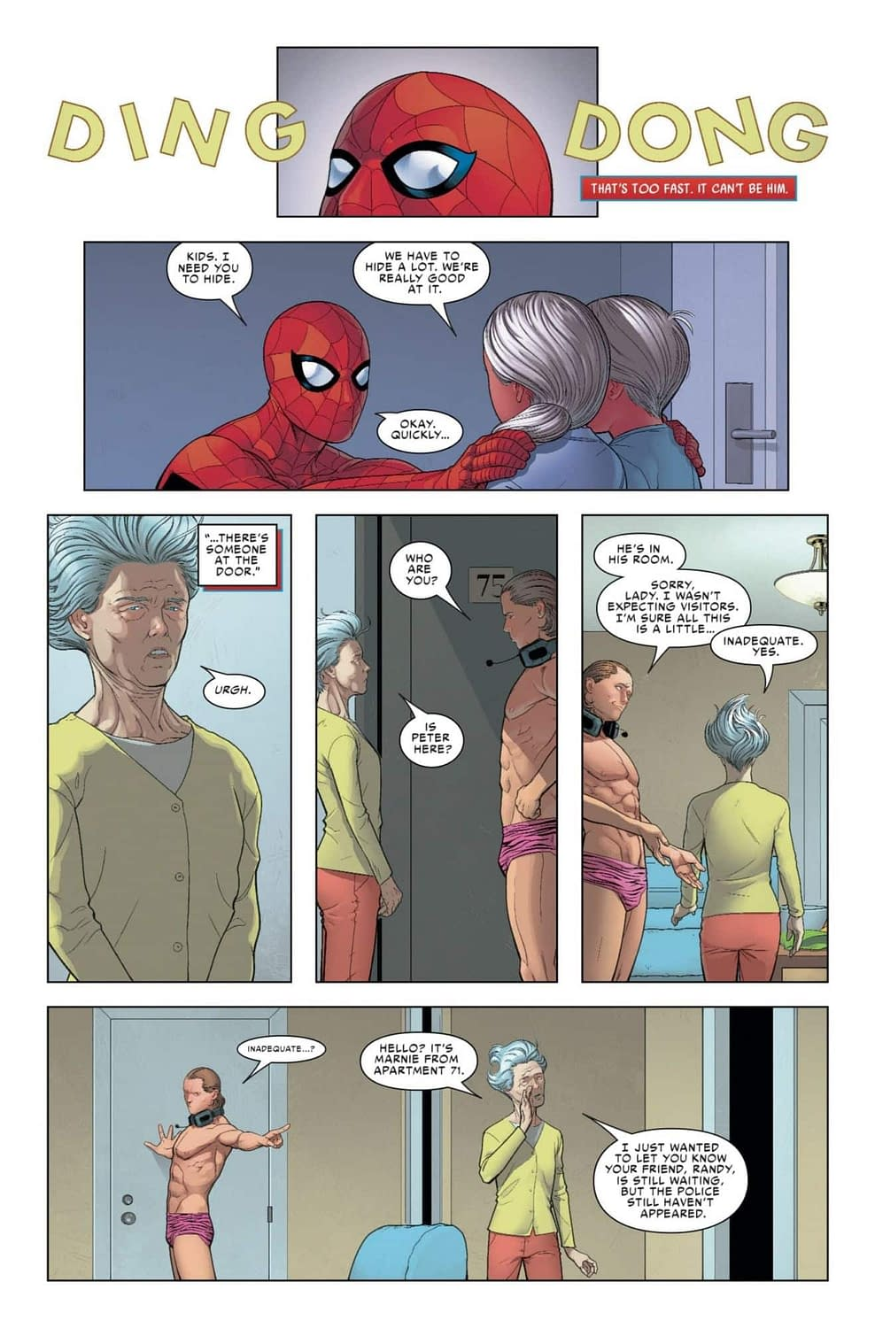 Judging Boomerang's Manhood in Next Week's Friendly Neighborhood Spider-Man #2