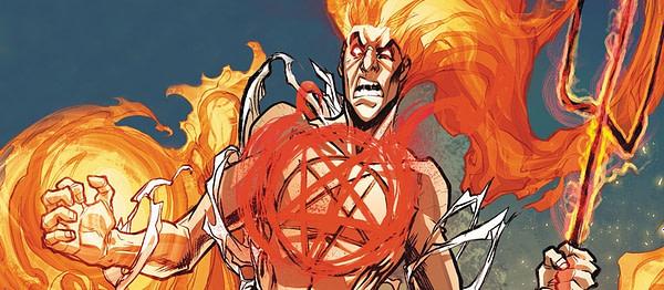 Daimon Hellstrom combat les démons internes et externes, gracieuseté de Marvel Comics.