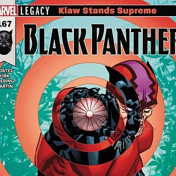 Black Panther #167 cover by Brian Stelfreeze and Laura Martin