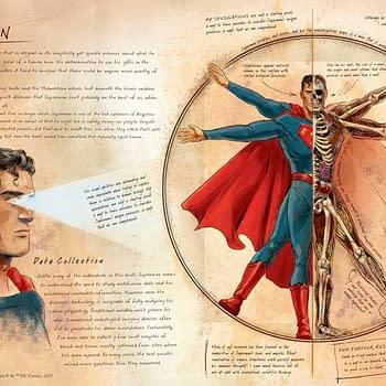 Ming Doyle Announces New DC Book Anatomy of a Metahuman Reveals Bruce Waynes Art Skills