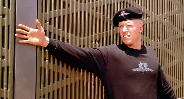 Jake Busey Says Casper Van Dien, Ed Neumeier Want him for 'Starship Troopers' TV Series