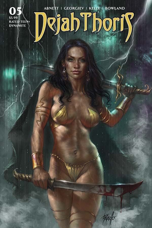Dan Abnett's Writer's Commentary on Dejah Thoris #5.