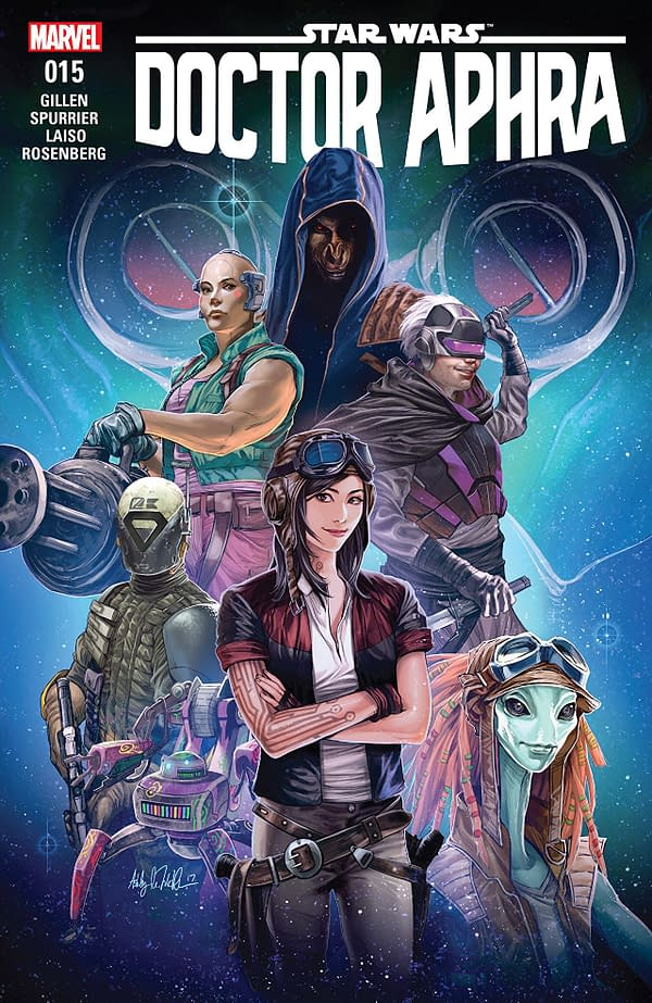 Doctor Aphra #15 cover by Ashley Witter
