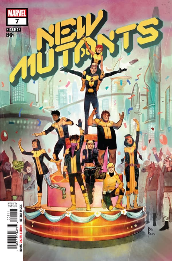 New Mutants #7 [Preview]