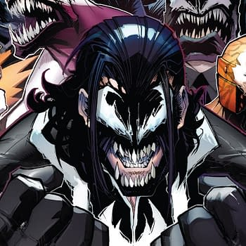 Venom #159 cover by Gerardo Sandoval and David Curiel