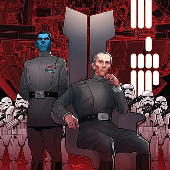 Star Wars: Thrawn #4 cover by Paul Renaud