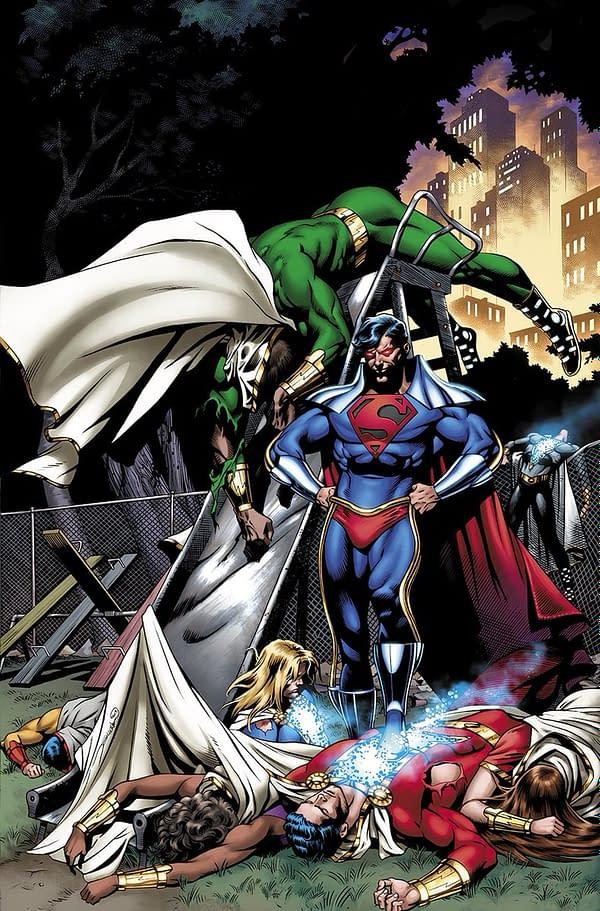 Superboy Prime Returns In Shazam #13