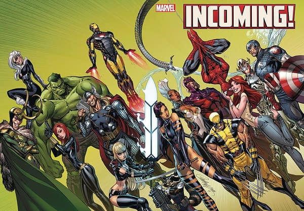 """Marvel Comics 2020 Calendars Giveaways to Promote """"Incoming"""""""
