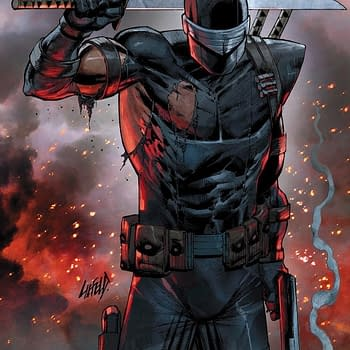 Rob Liefeld to Introduce New GI Joe Bad Guys in Snake Eyes: Deadgame