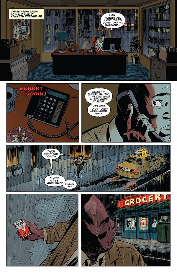 Amazing Spider-Man #801 art by Marcos Martin and Muntsa Vicente