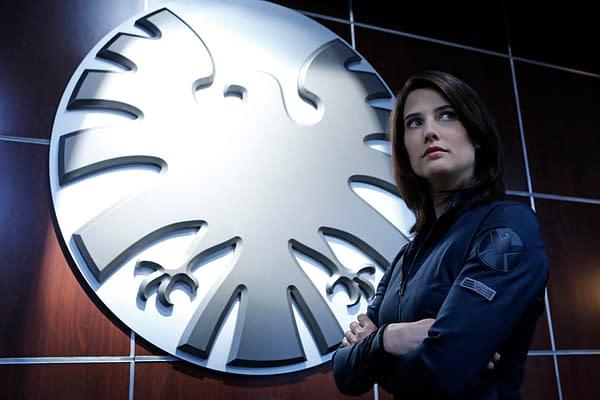 Maria Hill (Cobie Smulders) in Agents of S.H.I.E.L.D.