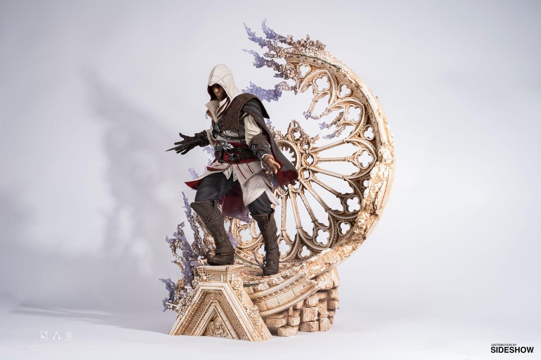 Ezio Enters the Animus with New PureArts Statue
