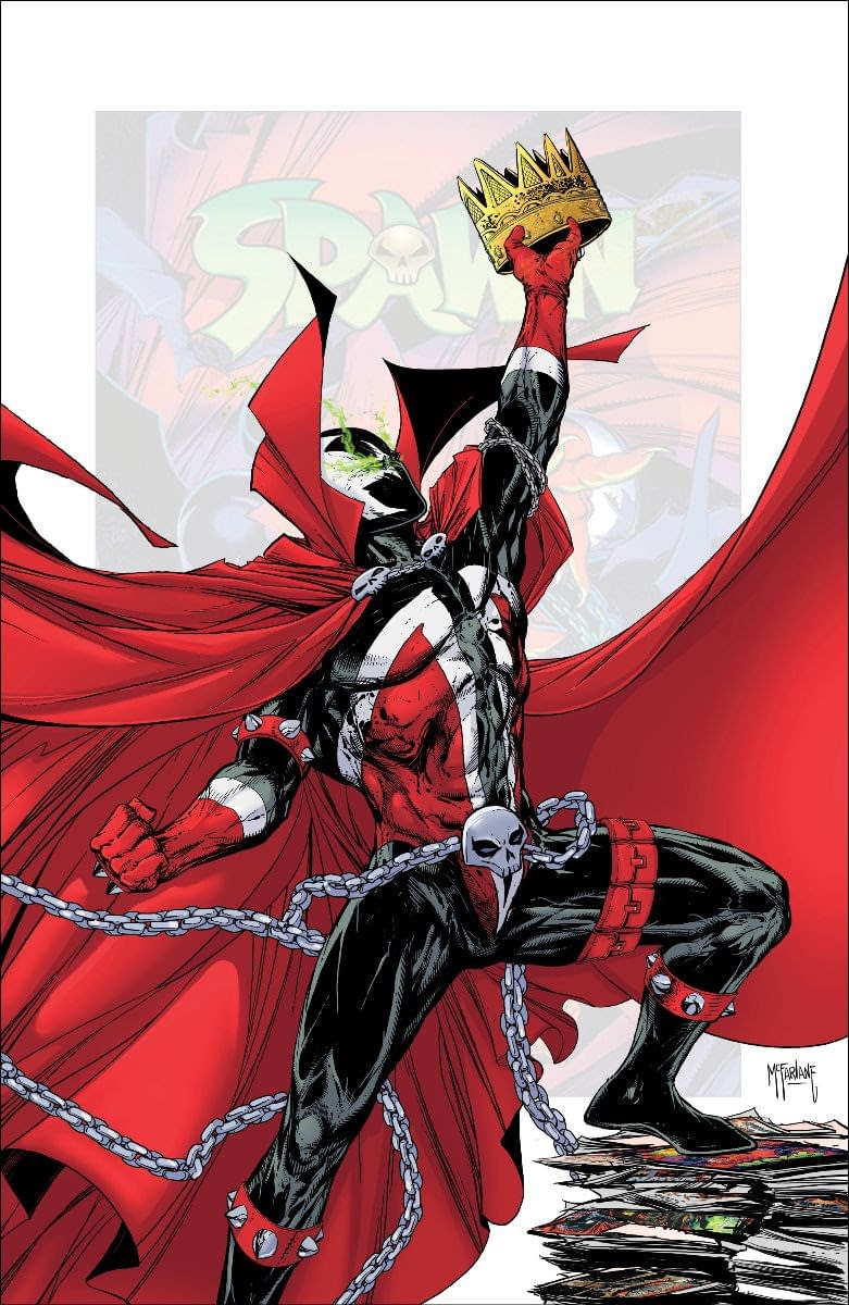 Image Changes Clayton Crain's Spawn #301 Variant, Calls it Surprise; Plus: McFarlane, Caputo