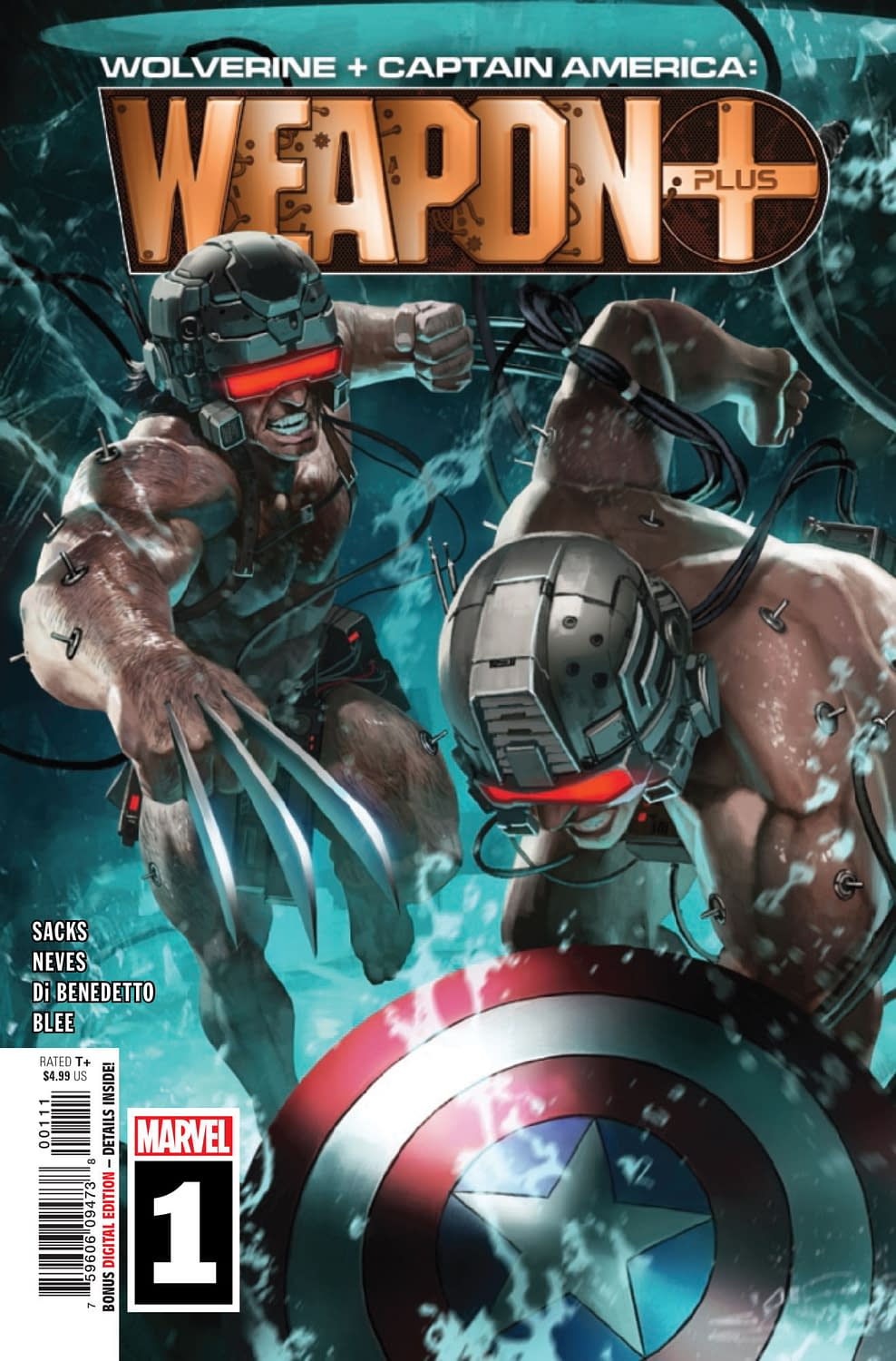 Weapon Plus #1: The A on His Head Doesn't Stand for France [Preview]