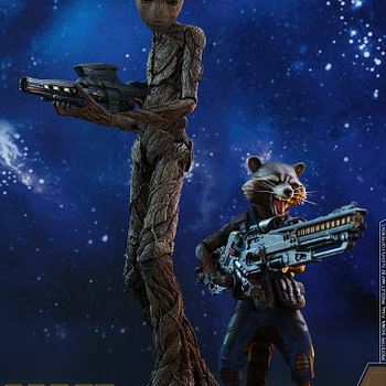 Rocket and Groot Infinity War Hot Toys 11