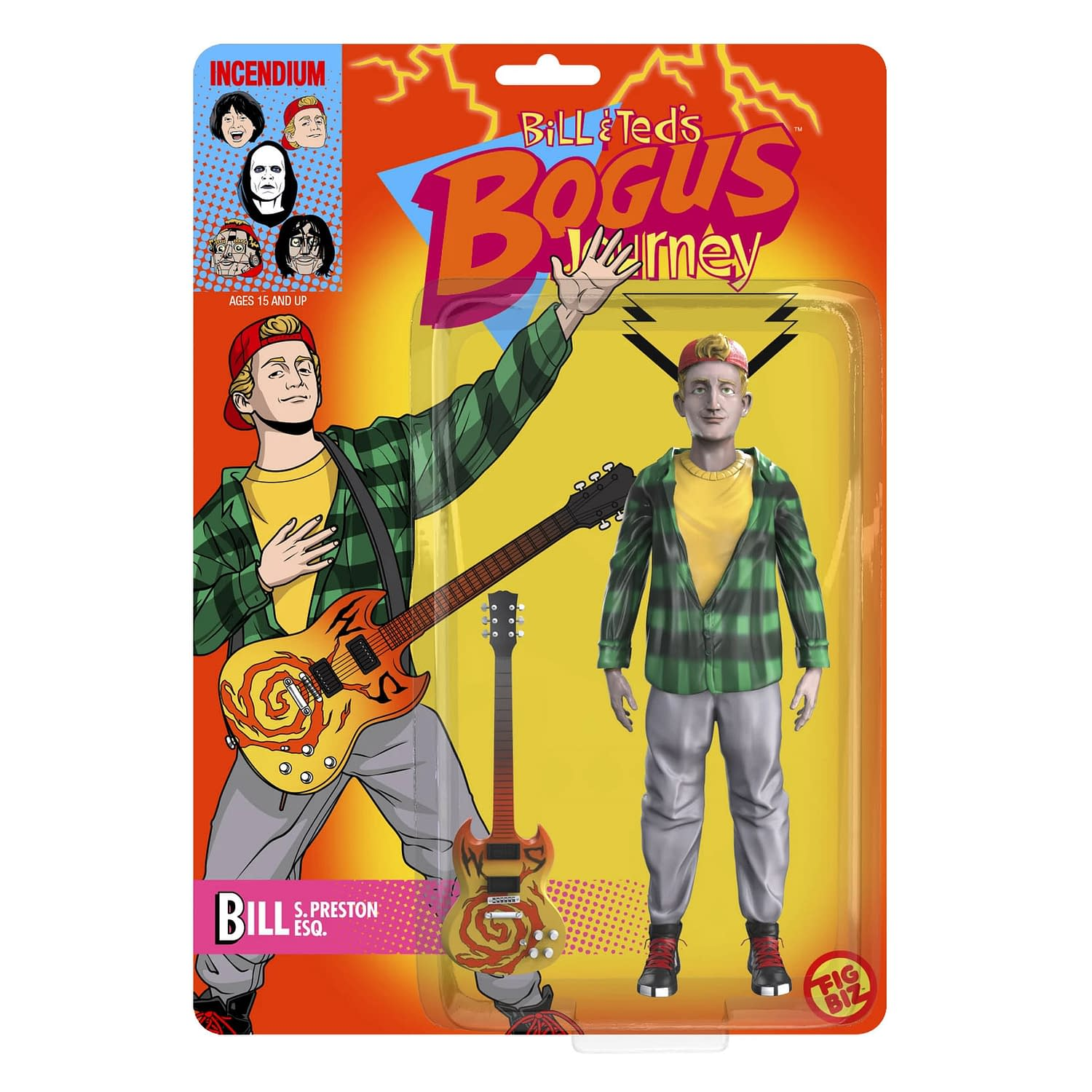 Bill & Ted Get Animated Once Again with New Incendium Figures