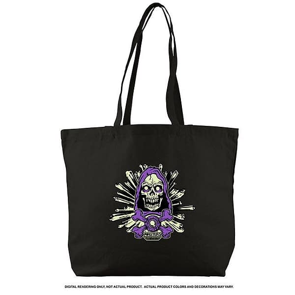 Mattel SDCC Exclusive Masters of the Universe Skeletor Tote Bag
