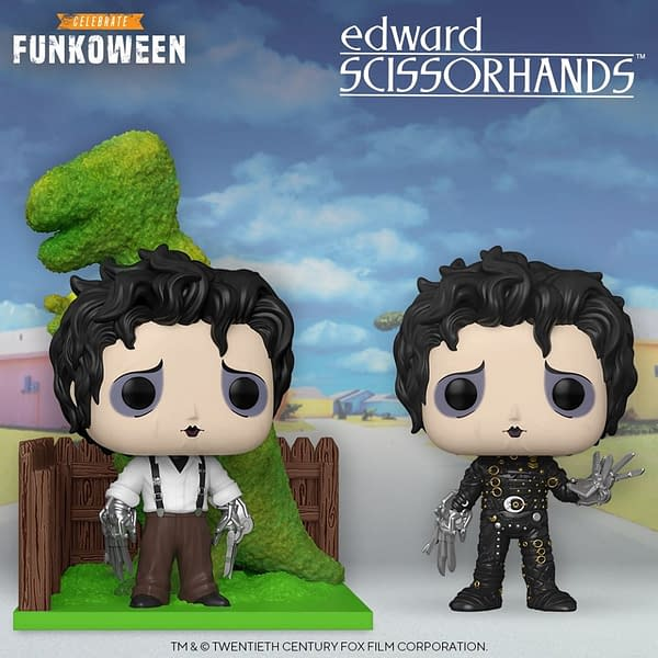 Edward Scissorhands Pops Announced During Funkoween Reveals