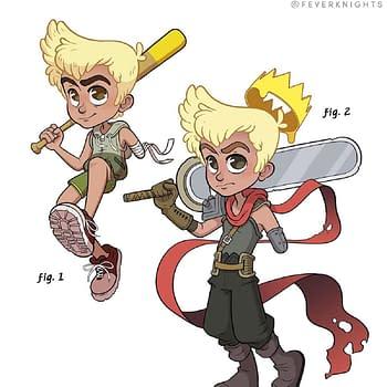 Cartoonist Adam Ellis Creates Fever Knights RPG Concept