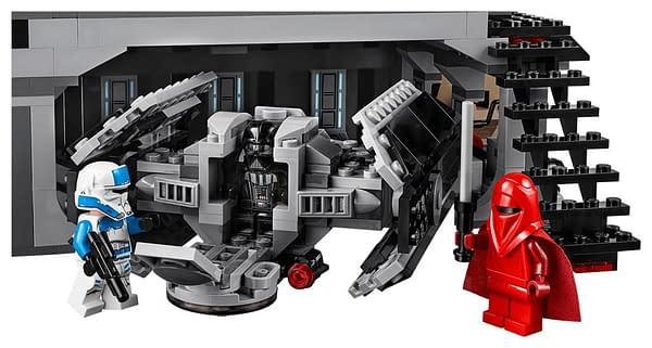 LEGO Star Wars Darth Vader's Castle 4