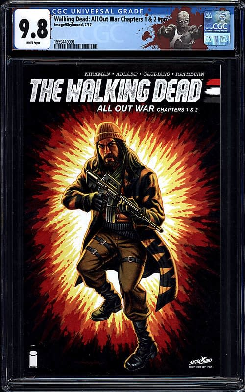 Comic Connect Walking Dead GI Joe Cover Exclusive