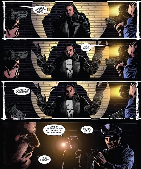 The Punisher Has Words For The Police Who Use His Skull Logo