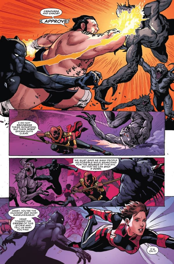 Black Panther and the Agents of Wakanda #1 [Preview]
