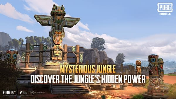 Good luck in the new jungle areas in PUBG Mobile.