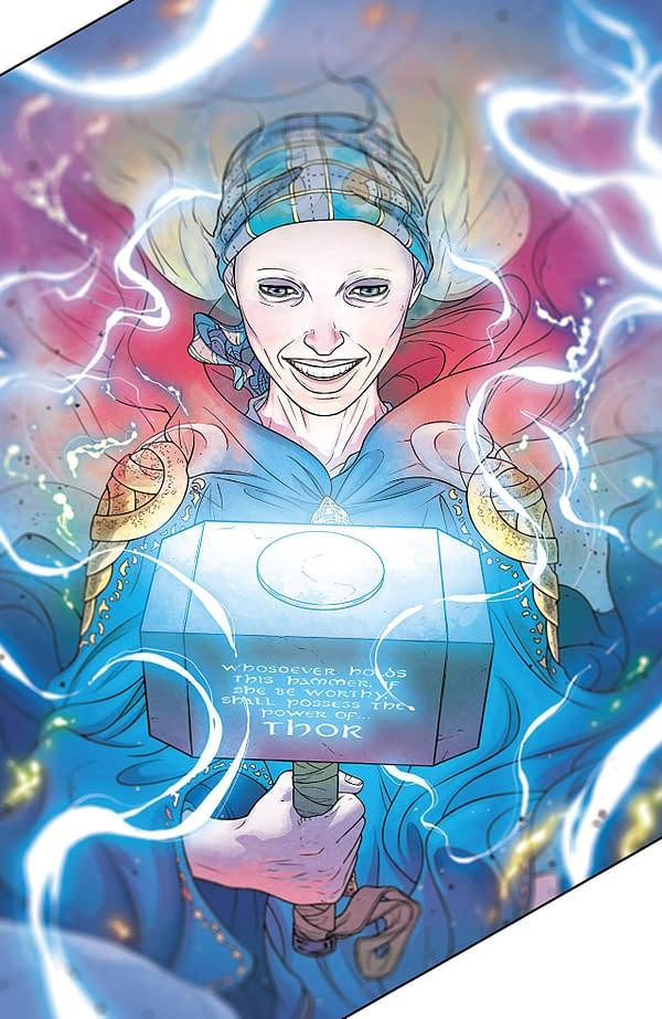 The Mighty Thor #705 art by Russell Dauterman and Matthew Wilson