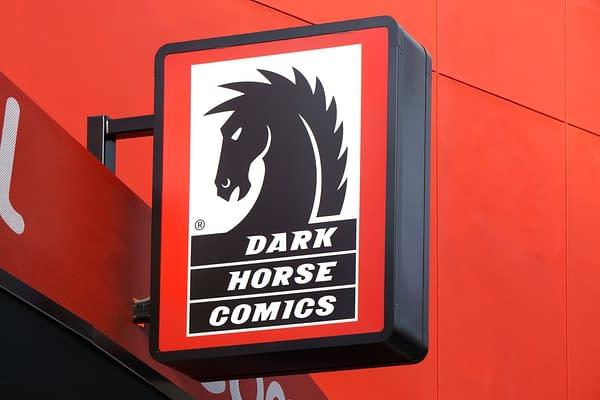 Dark Horse comics retailer store image