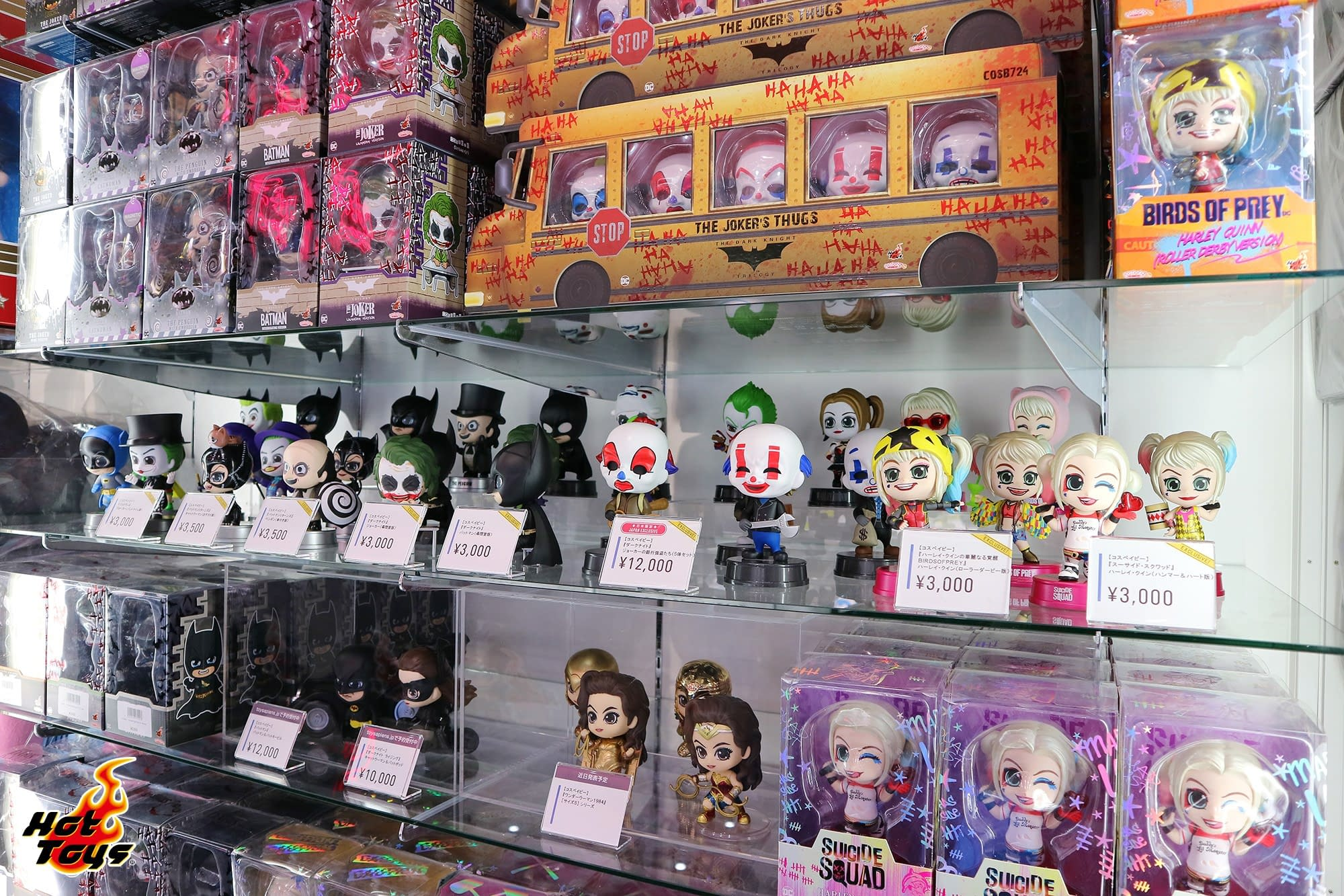 Hot Toys Shows off New Collectibles at DC All Stars Event in Tokyo