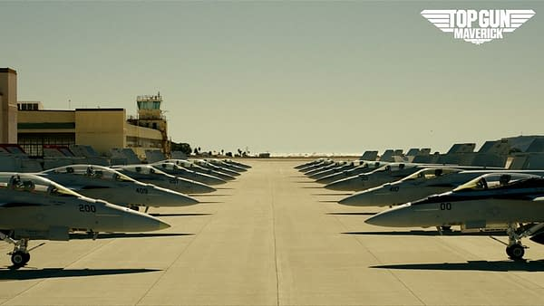 Top Gun Maverick backgrounds are now available from Paramount.