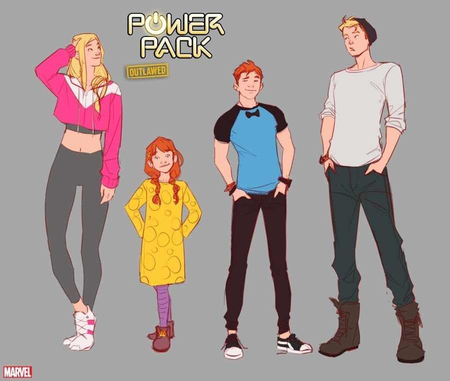 And Now a New Power Pack Series, From Ryan North and Nico Leon