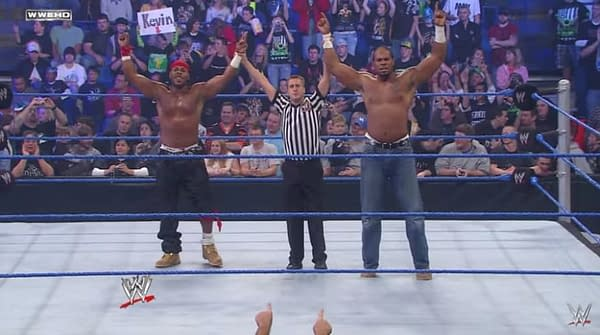 Former Member of WWE's Cryme Tyme, Shad Gaspard, Black Listed by Hollywood