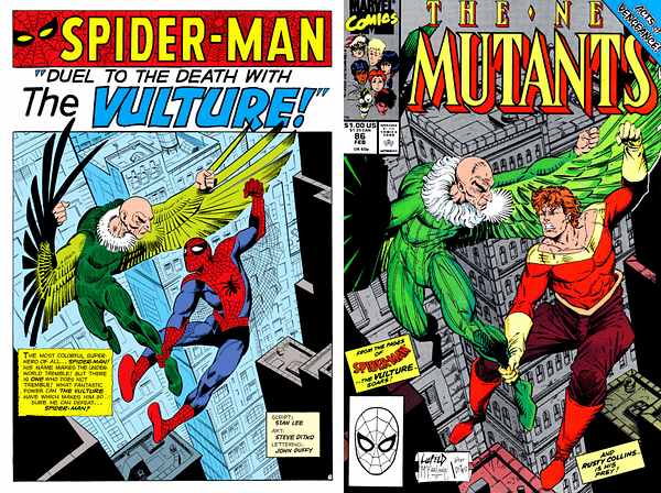 """New Mutants #87 Homage Covers """"After Liefeld"""" – Should They Be """"After Gil Kane""""?"""