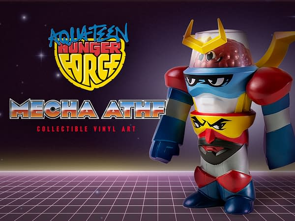 Kidrobot Adult Swim Mecha Aqua Teen Hunger Force VInyl Art Figure