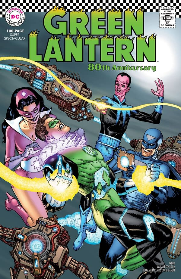 Green Lantern 80th Anniversary Special #1 1960's Variant Cover