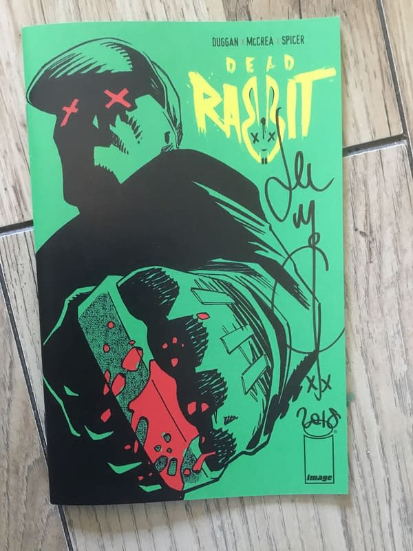 Review: The Dead Rabbit #1 by Gerry Duggan, John McCrea and Mike Spicer