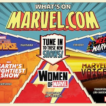 Marvel New Media Announced at C2E2 with 5 Shows Through The Week