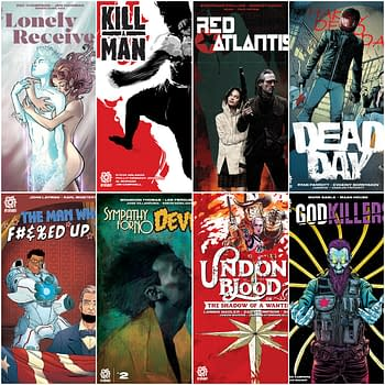 To Kill A Man and Red Atlantis Launch in AfterShock Comics June 2020 Solicitations